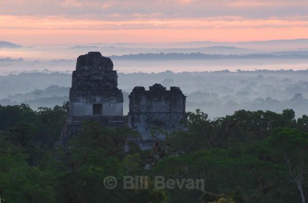 Face to Face at Dawn - Tikal