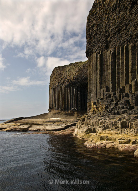 staffa columns - Land and seascapes