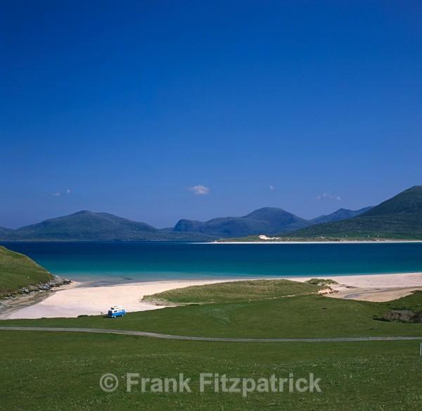 Beach, Island of Harris, Outer Hebrides. - Harris