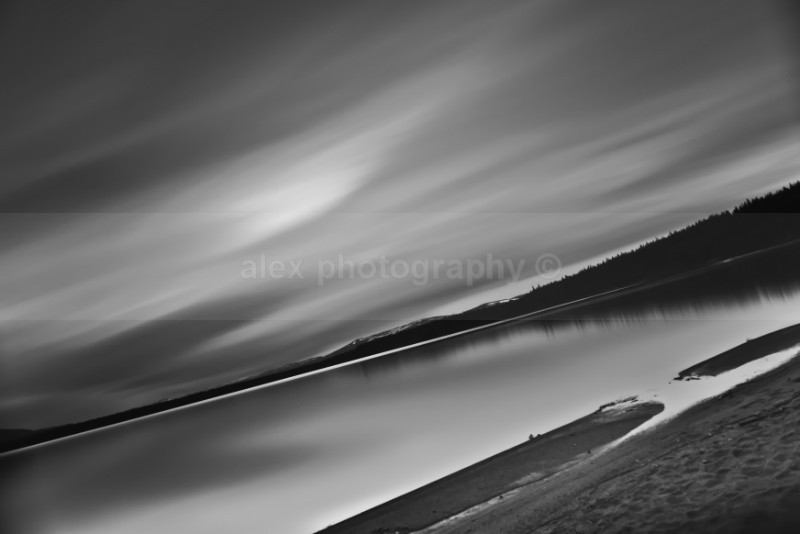 Loch Morlich sunset, Scotland - Landscape & Seascape