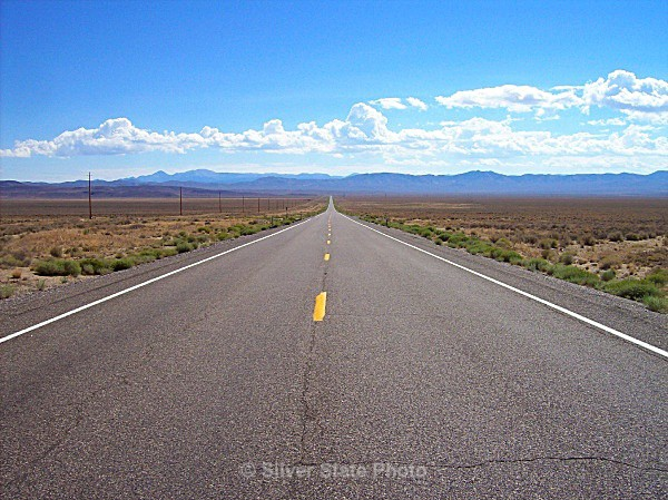 The Loneliest Road in America - Hwy 50 Nevada - Nevada (mostly) Landscapes