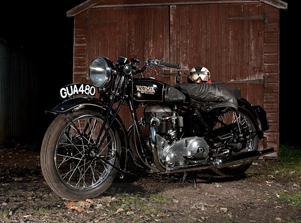 9 - Rudge Motorcycle Restoration