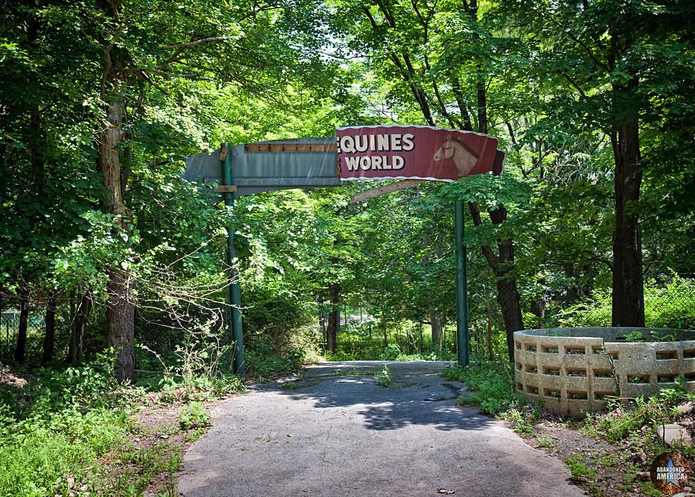Catskill Game Farm (Catskill, NY) | Equine Section Sign - Catskill Game Farm