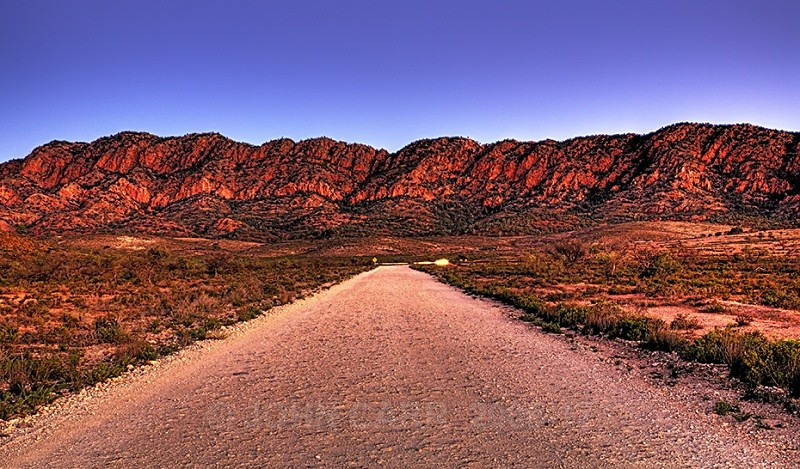 Chase Road HDR - FLINDERS RANGES PHOTOS