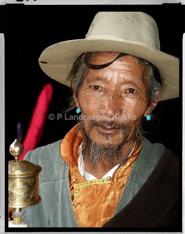 Tibetan Pilgrimage Lasa Tibet - Portraits
