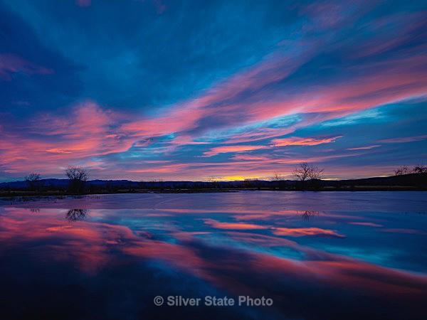 Harmon Reservoir Sunrise #2 - Nevada (mostly) Landscapes