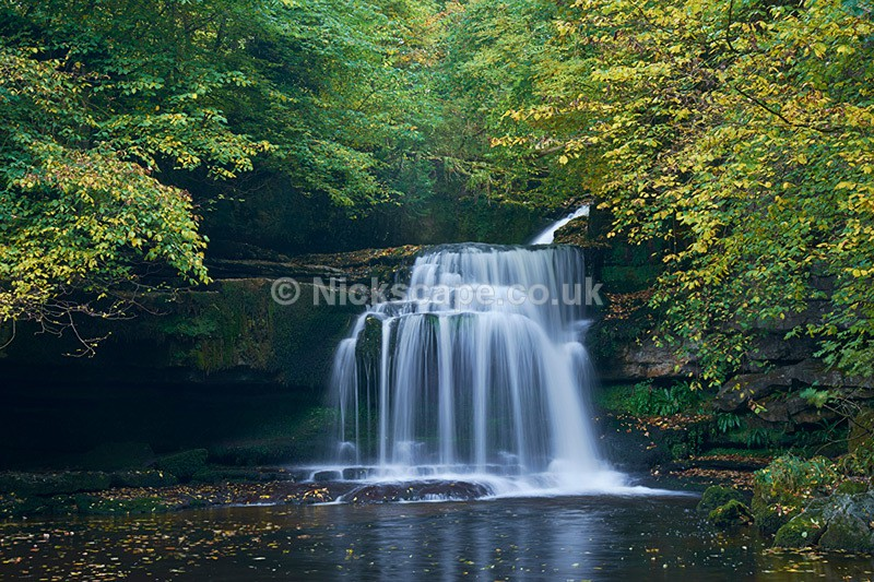 Cauldron Falls - West Burton Waterfall - Yorkshire Dales - Yorkshire