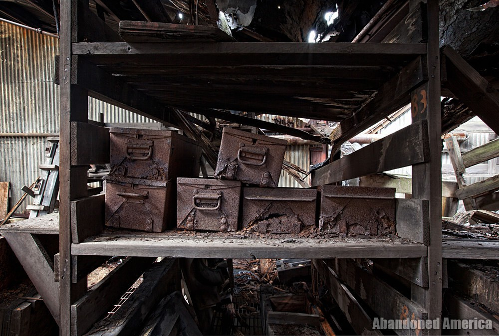 Fort Pitt Casting Co. (McKeesport, PA) | Oxidized Drawers - Fort Pitt Casting
