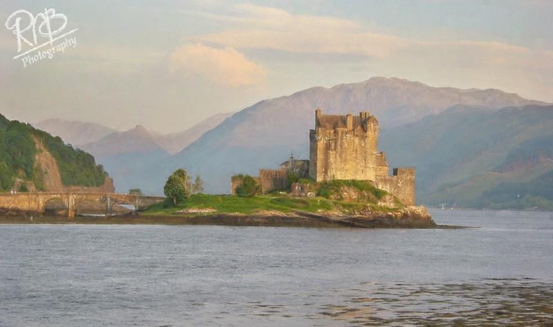 Ellian Donnan Castle - Digital Paintings