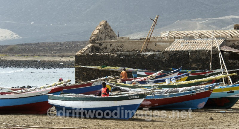 Cape Verde Islands fishing boats 2 - Cape Verde Islands