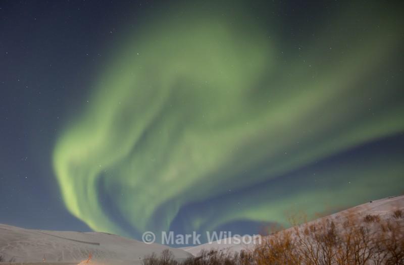 Varanger aurora - Land and seascapes