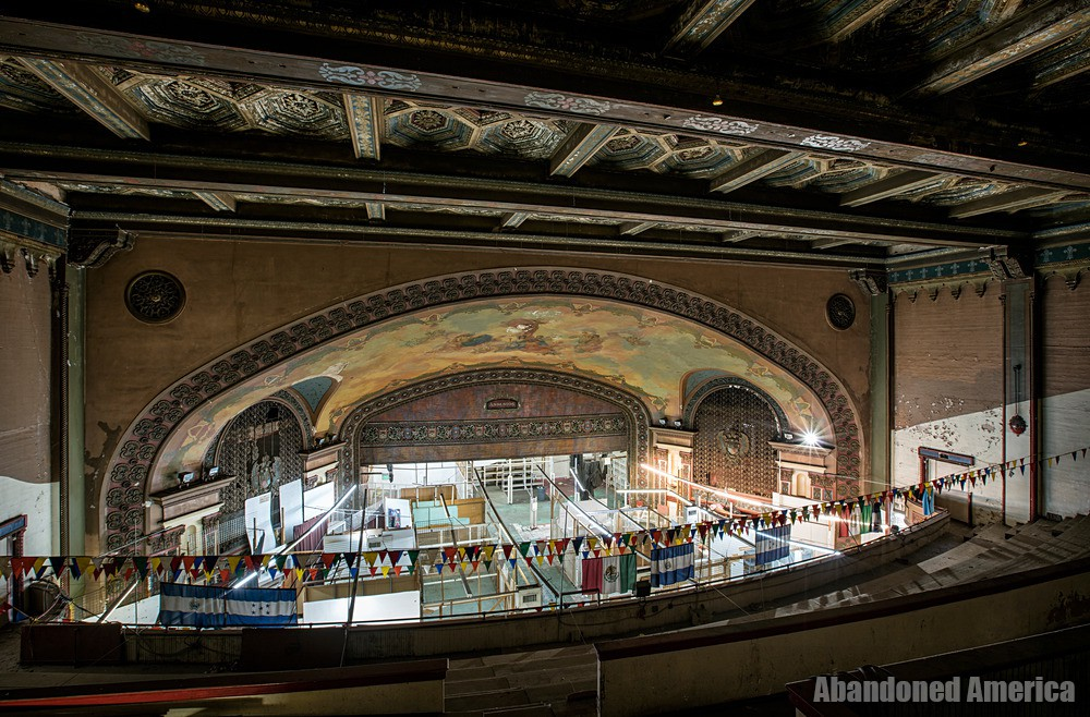 Stage view at The Westlake Theatre, Los Angeles, CA | Abandoned America