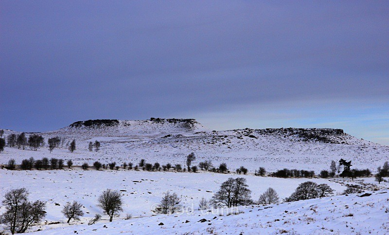 Higger Tor and Carl Wark winter - New Images