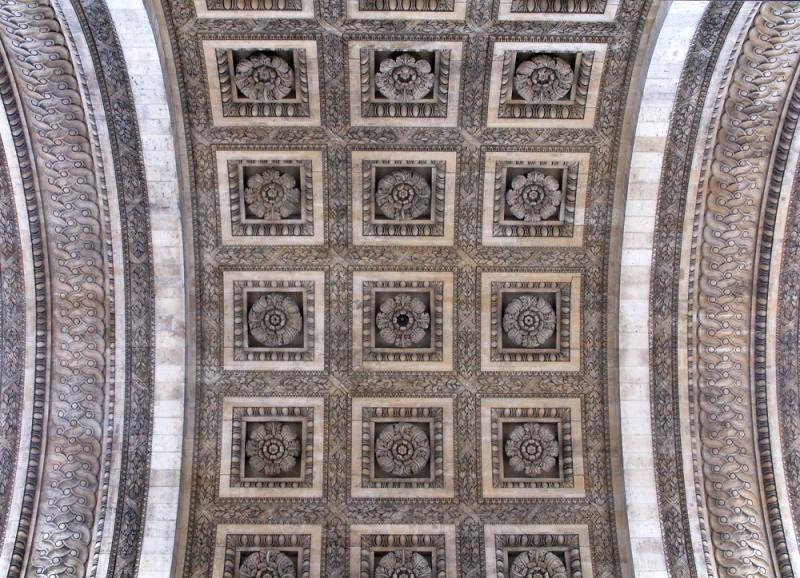Arc de Triomphe ceiling - Paris