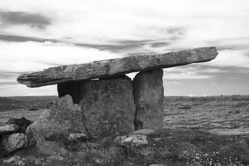 Poulnabrone Dolmen - Ruins and Not So Ruined