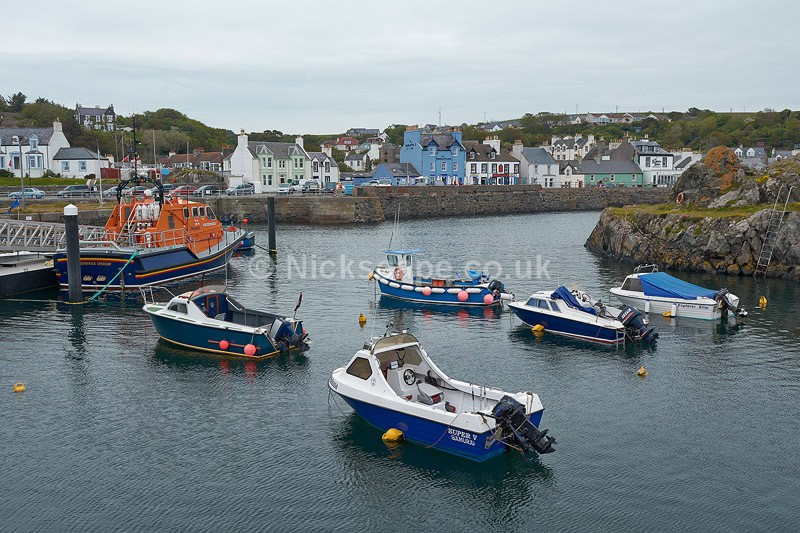 Portpatrick Harbour - Dumfries and Galloway - Scotland