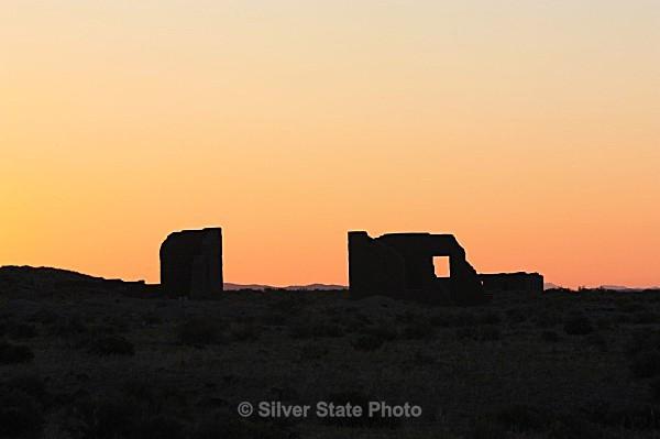 Fort Churchill Sunrise - Buildings