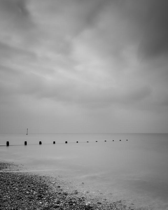 Groynes at Bracklesham bay - The South Coast