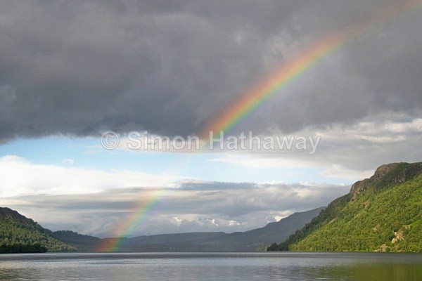 Ullswater Rainbow - English Lake District