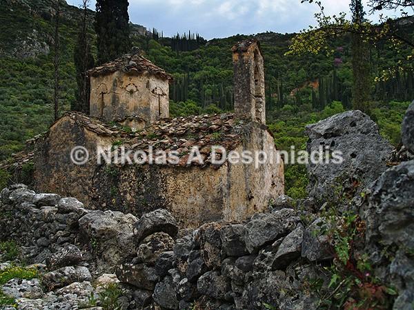 Μονή Λυκάκη Ι Lykaki Monastery - Μάνη Ι Mani