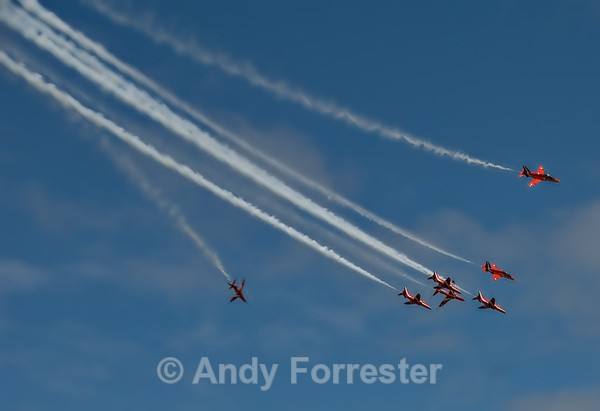 The Classic Shot - Red Arrows