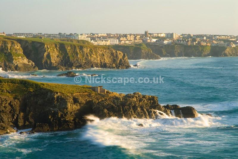 Newquay from Trevelgue Head | Cornwall Coastal Photography Gallery