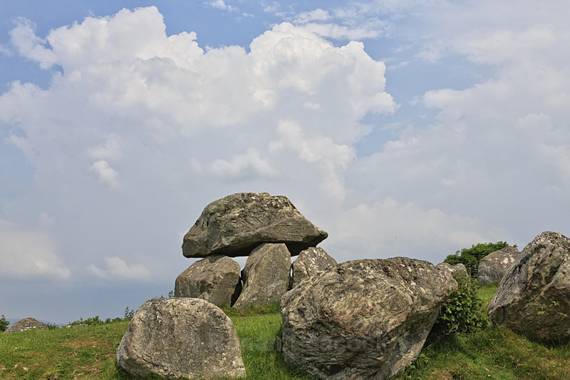 Carrowmore Megalithic Tomb - Ruins and Not So Ruined