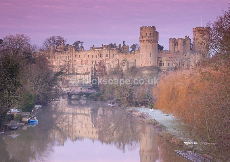 Warwick Castle | Photography of the Castle in Warwick on a frosty morning