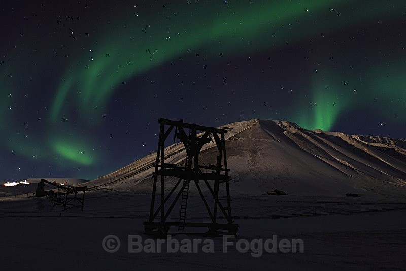 Northernlight at Gruve 6 5028 - Polar night