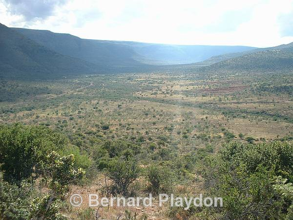 View down the Karige valley - Avon Heights rides