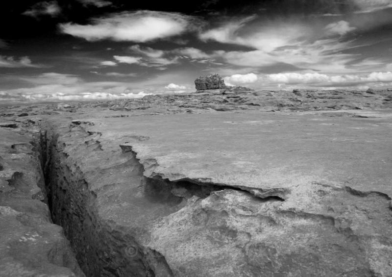 Crack in the Rock - West of Ireland