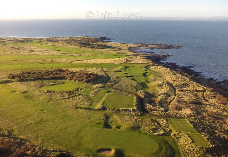 Gullane No1 Course - Scottish Links Aerial Images
