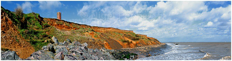 Naze Cliffs and Tower - Naze Tower
