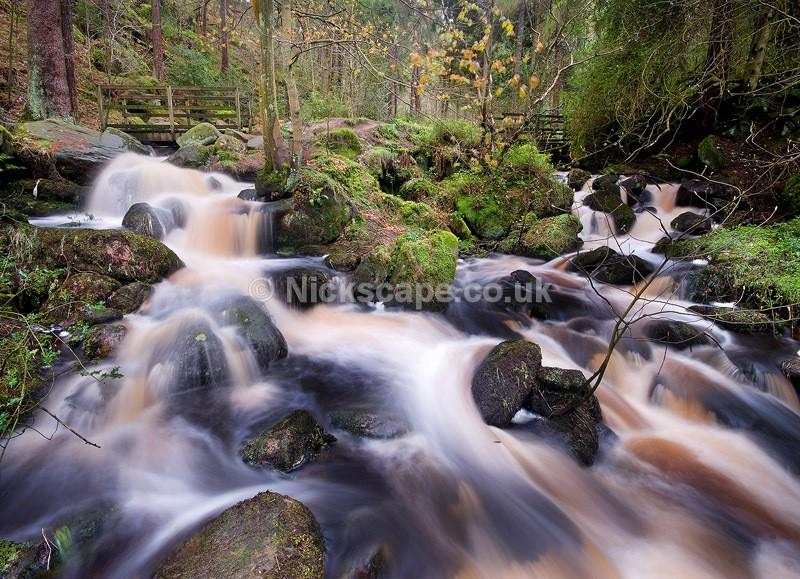 Peat Waterfalls at Wyming Brook - Sheffield, UK - Peak District Landscape Photography Gallery