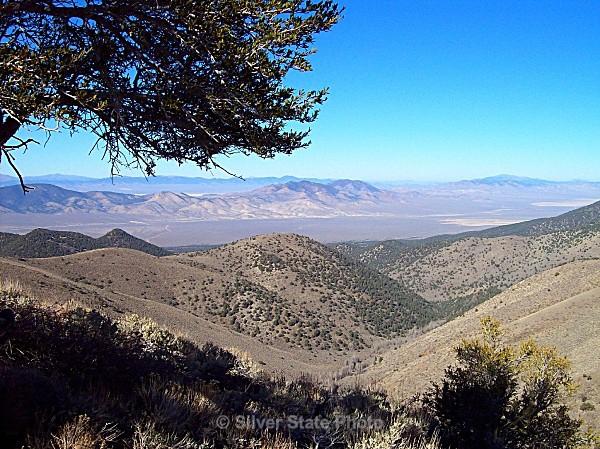 San Juan Creek - looking toward Shoeshone Mountains - Nevada (mostly) Landscapes