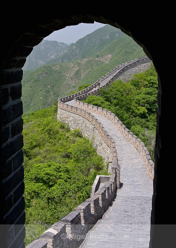 The Great Wall at Mutiyanu - China