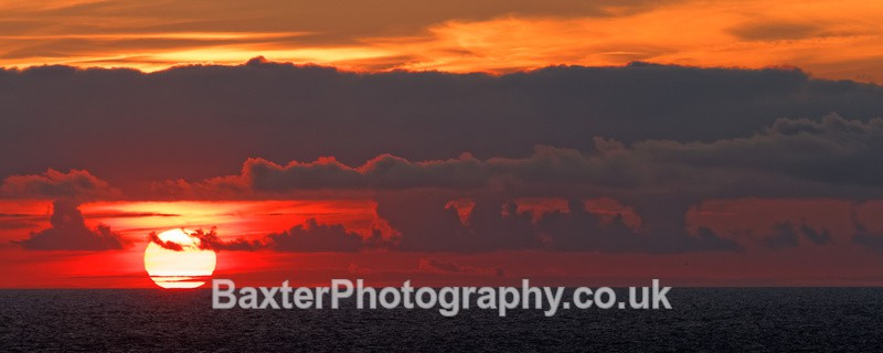 Sunset Over The Ocean - Miscellaneous