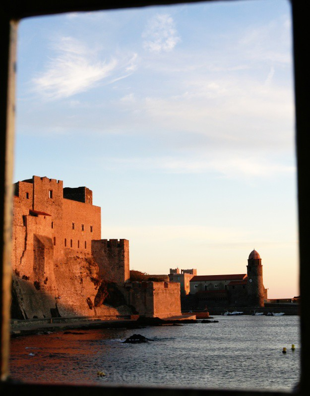 Collioure Dawn - Ruins and Not So Ruined