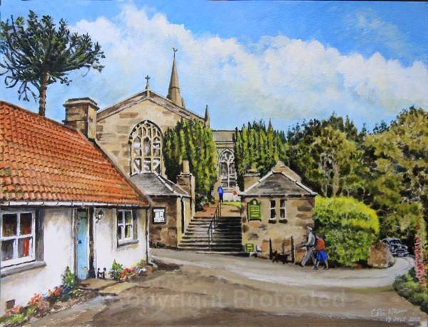 Upper Largo Church, Fife - Landscapes