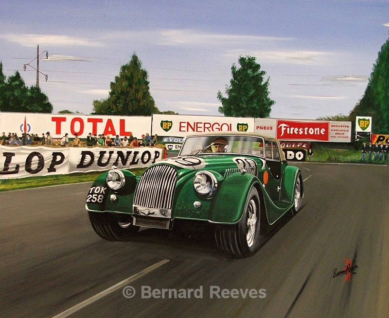 Morgan at Le Mans - Classic cars