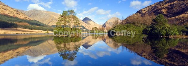 Glen Etive, Highland_1 - Panoramic format