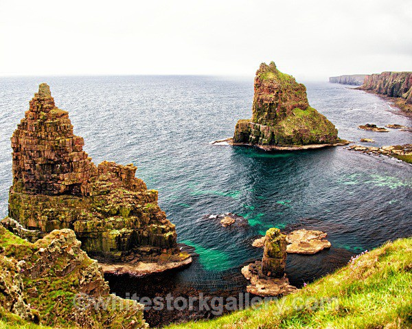 Sea Stacks at John O Groats - Scottish Highlands