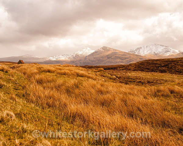Remote Views towards Applecross - Scottish Highlands