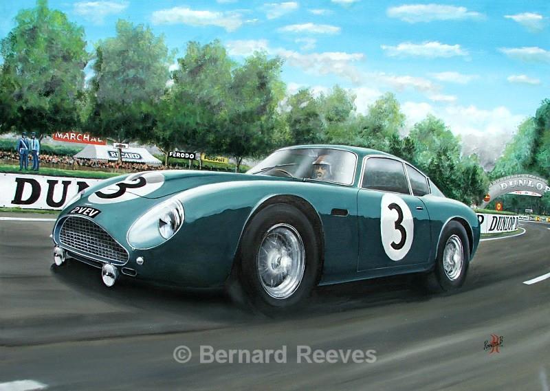 Aston Martin DB4GT Zagato - Classic cars