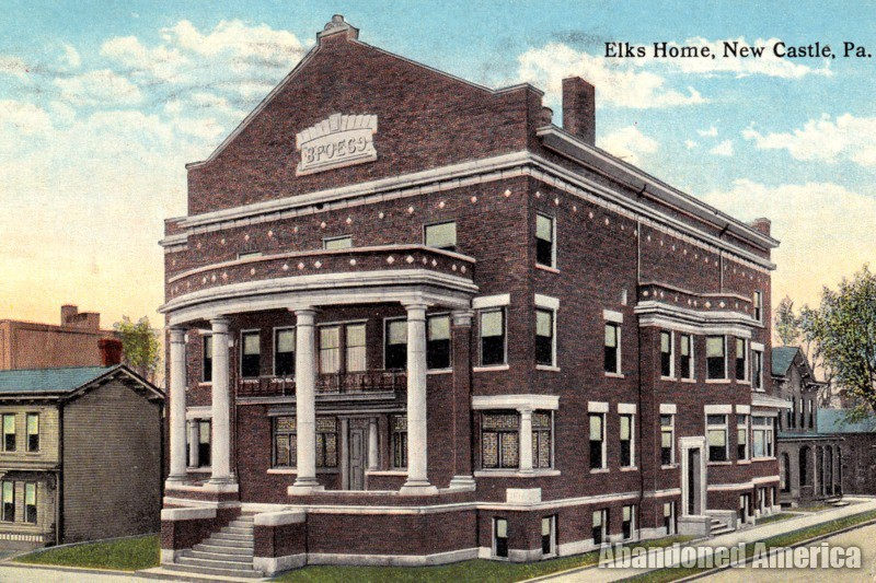 New Castle Elks Lodge (New Castle, PA) | Historical Photo - New Castle Elks Lodge