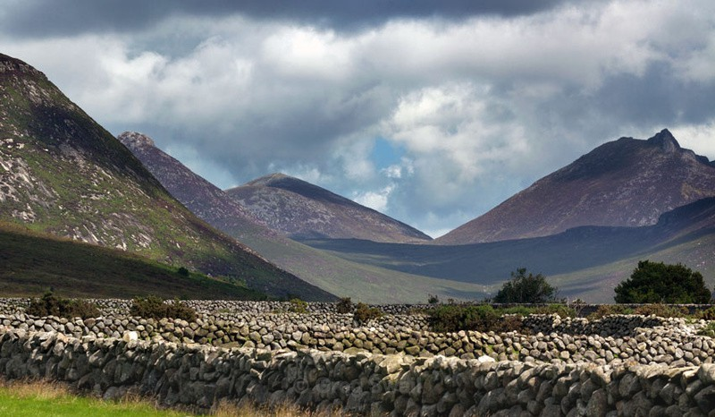 Mourne Valley - At the Foot of the Mountain