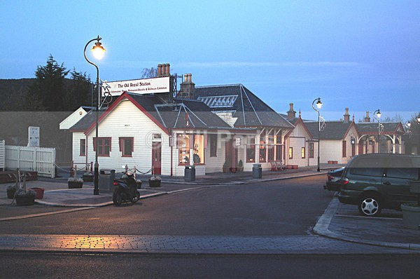 The Old Royal Station. Ballater. - Archive.