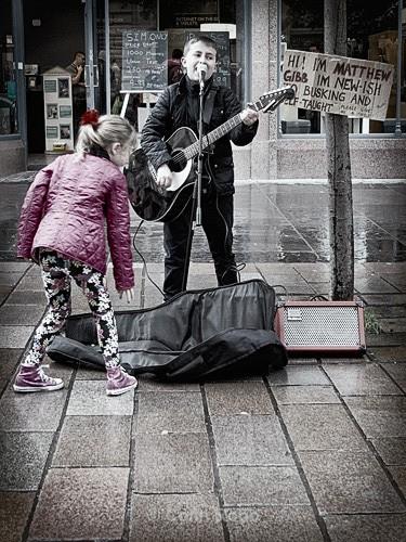 Future star Matthew Gibb   By Colin Robb
