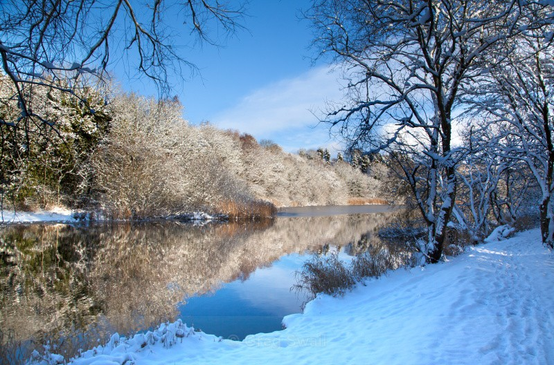 Quoile Winter - The Quoile River and Inch Abbey