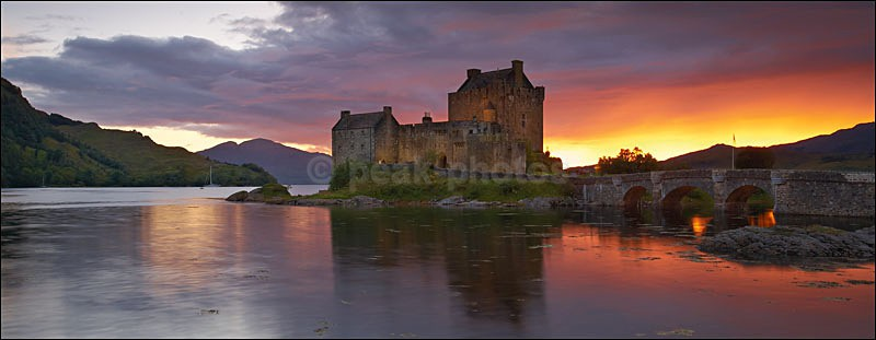 Eileen Donan Castle - Photographs of Scotland